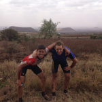 Tom en Jeroen fietsen voor de boeren