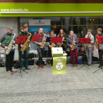 Saxofoonensemble en -kwartet voor Rikolto