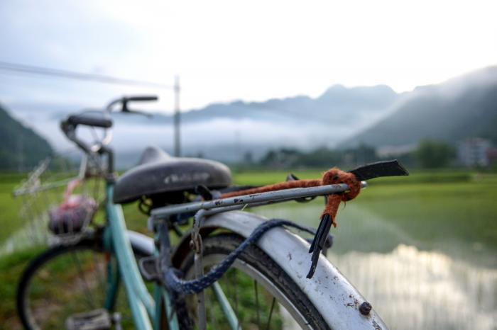 Annie en Ronny fietsen voor Rikolto in Vietnam