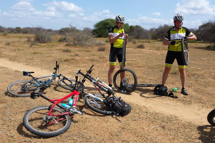 Sam cycles for farmers in Tanzania