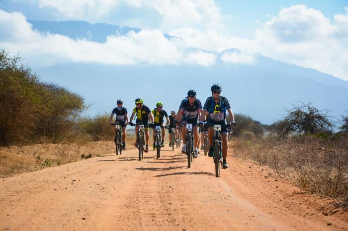 Aäron gaat fietsen op de Rocky Roads of the Kilimanjaro
