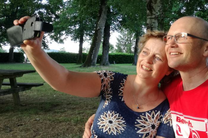 Sophie en Piet vieren hun 50e verjaardag