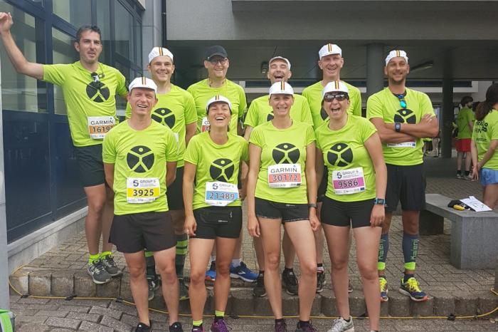 Team NDW #2200 loopt 20km van BXL