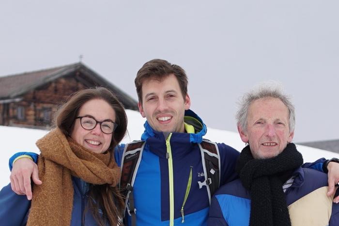 Freddy, Joa en Myrthe lopen zich in het zweet voor Rikolto